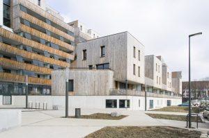 k&+ 3b grand angle logements Strasbourg
