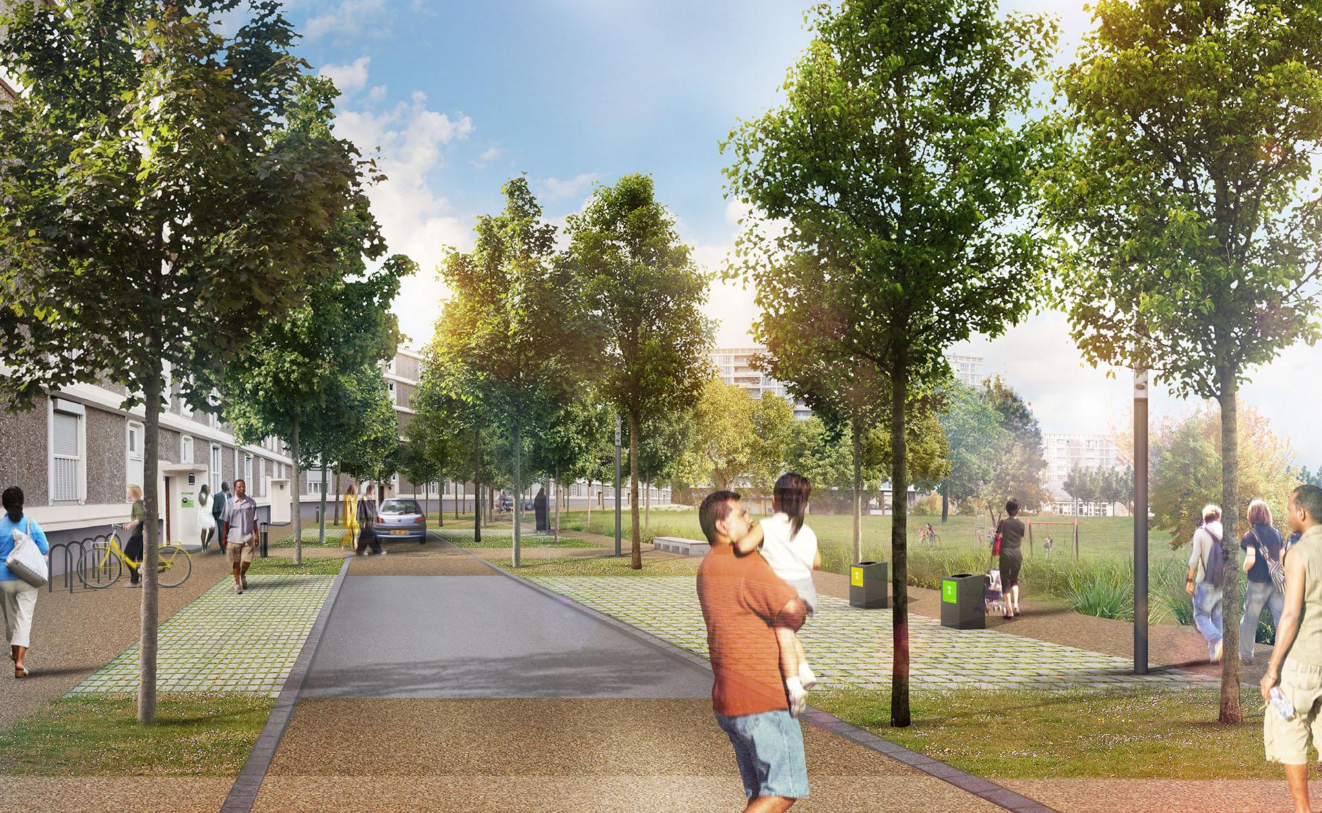 projet cité rotterdam