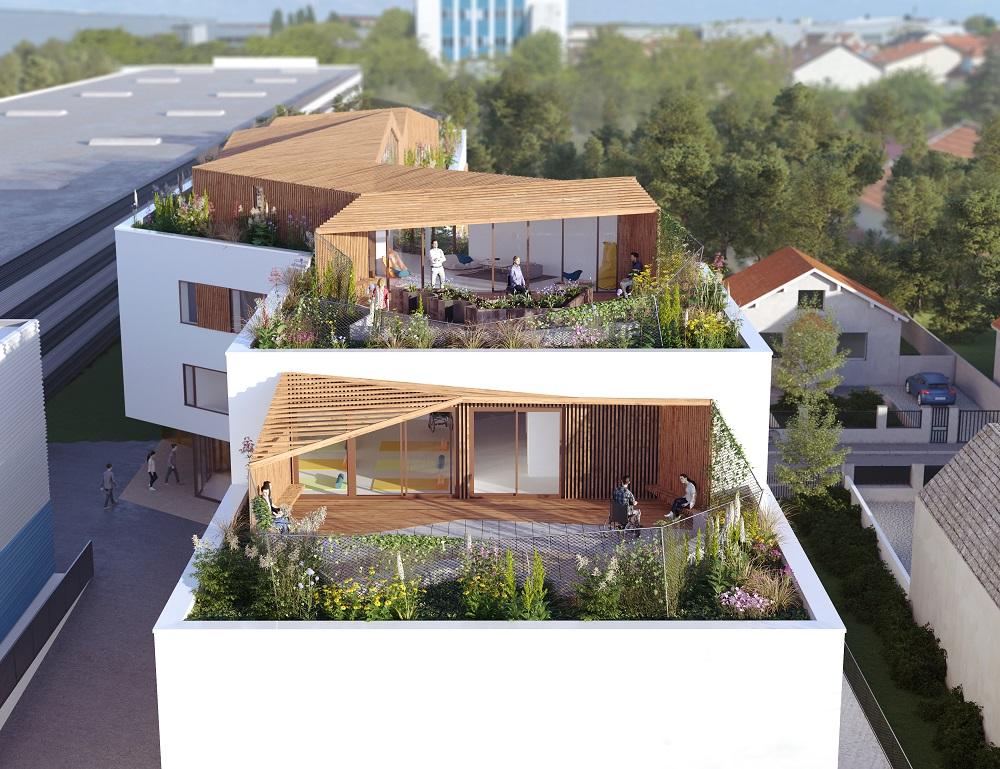 terrasse foyer vie drancy
