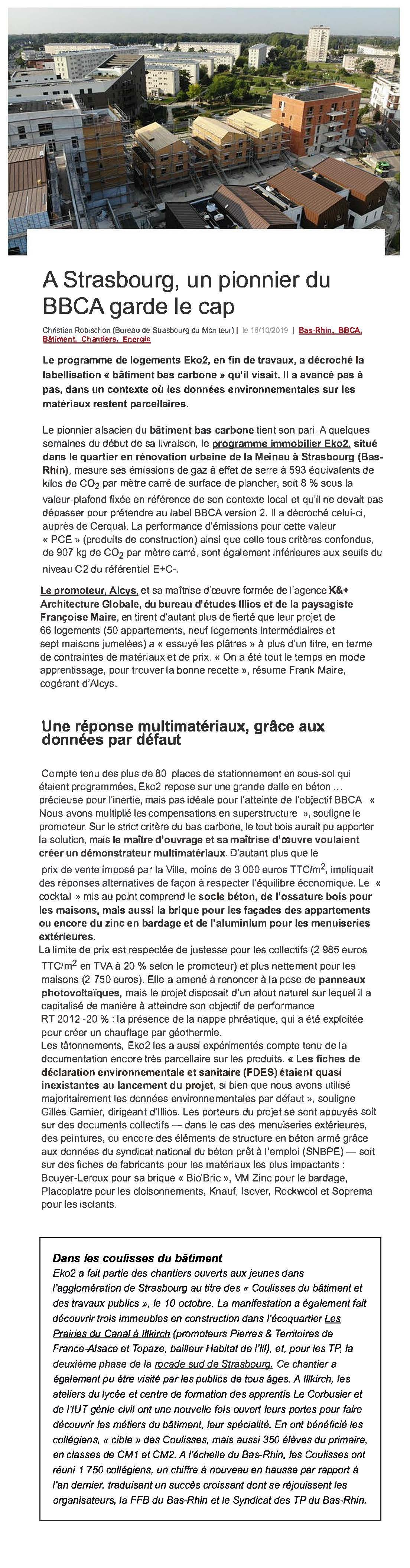 article eko2 le moniteur