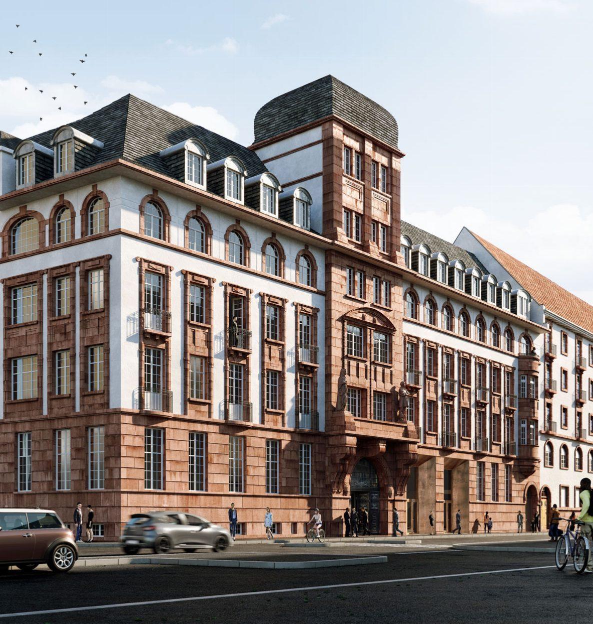ancienne caisse assurance maladie Strasbourg