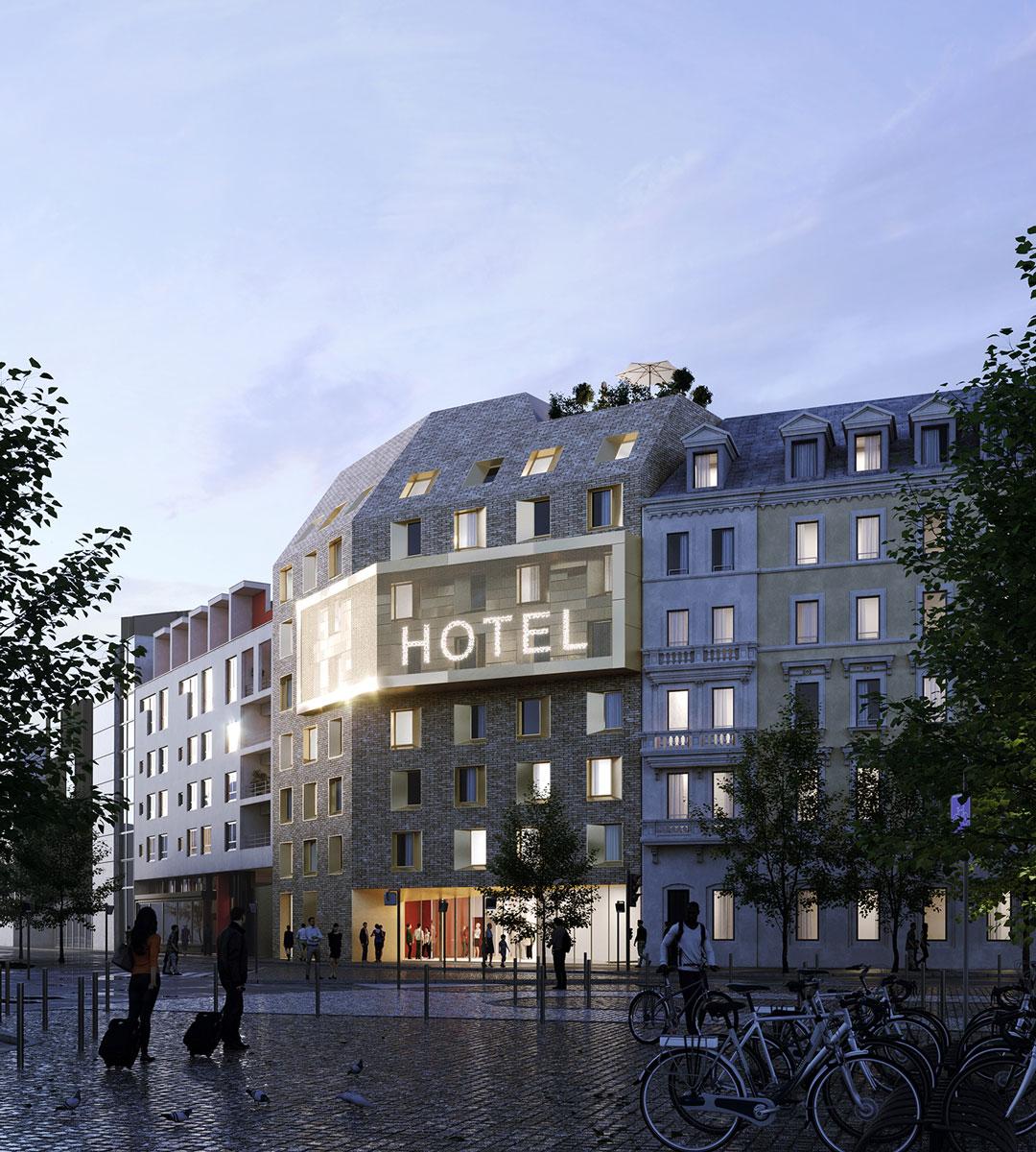 Hôtel K&+ Strasbourg